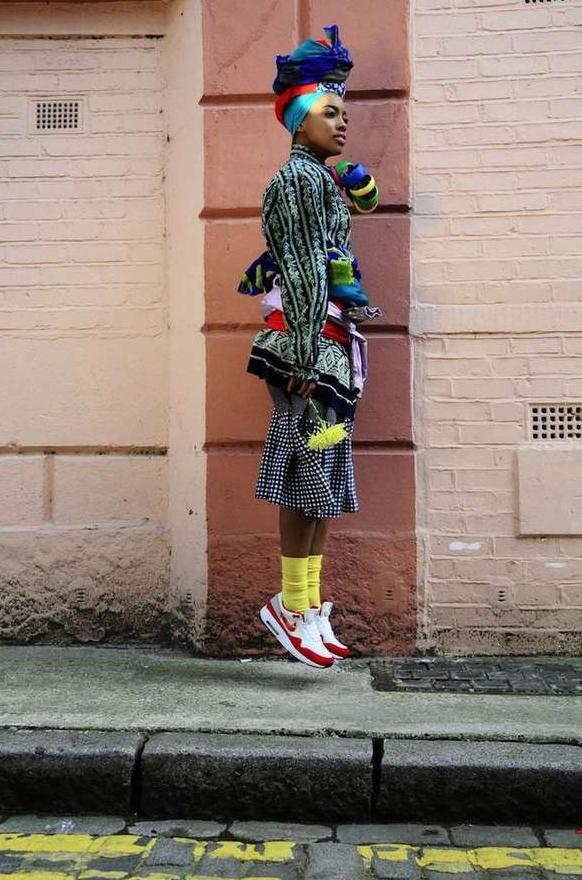 street style, moda callejera, afro