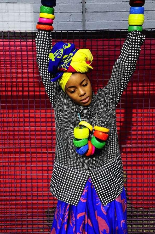 moda callejera street style afro fashion