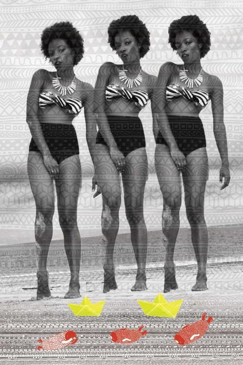 street style, moda callejera bikini