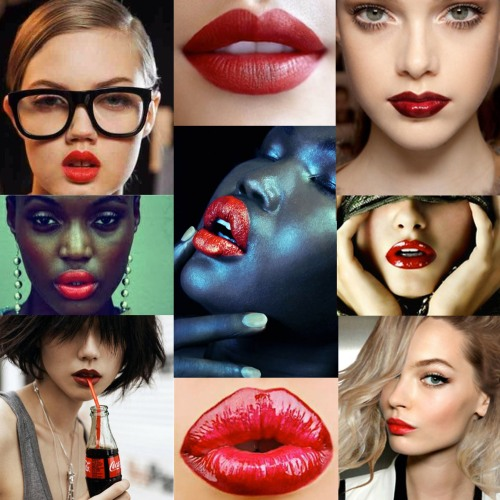 make up red lips miss balanta street style fashion urban