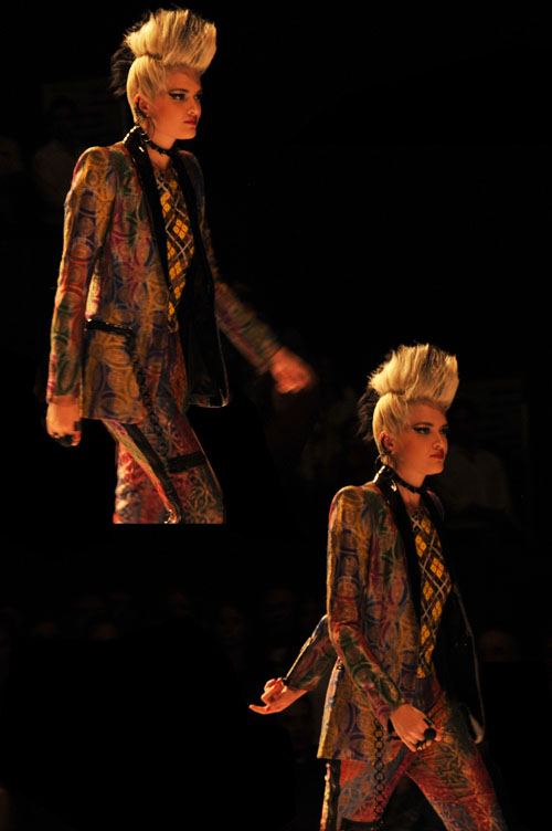 Jean Paul Gaultier Cali exposhow 2012 miss balanta moda colombiana cali bogota